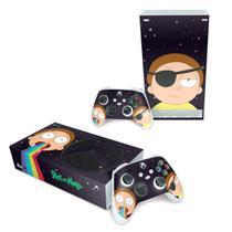 Skin Adesivo para Xbox Series S - Morty Rick And Morty - Pop Arte Skins