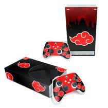 Skin Adesivo para Xbox Series S - Naruto Akatsuki - Pop Arte Skins