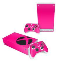 Skin Adesivo para Xbox Series S - Rosa - Pop Arte Skins