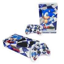 Skin Adesivo para Xbox Series S - Sonic - Pop Arte Skins