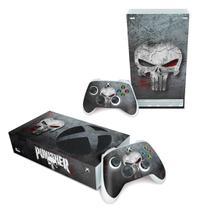 Skin Adesivo para Xbox Series S - The Punisher Justiceiro - Pop Arte Skins