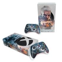 Skin Adesivo para Xbox Series S - The Witcher 3 - Pop Arte Skins