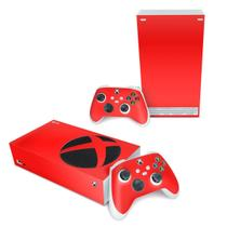 Skin Adesivo para Xbox Series S - Vermelho - Pop Arte Skins