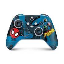 Skin Adesivo para Xbox Series S X Controle - Homem-Aranha Spider-Man Comics - Pop Arte Skins