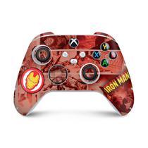 Skin Adesivo para Xbox Series S X Controle - Homem De Ferro Comics - Pop Arte Skins