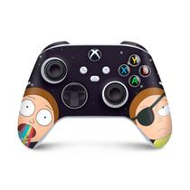 Skin Adesivo para Xbox Series S X Controle - Morty Rick And Morty - Pop Arte Skins