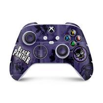 Skin Adesivo para Xbox Series S X Controle - Pantera Negra Comics - Pop Arte Skins