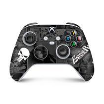 Skin Adesivo para Xbox Series S X Controle - The Punisher Justiceiro Comics - Pop Arte Skins