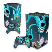 Skin Adesivo para Xbox Series X - Cuphead - Pop Arte Skins