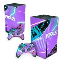 Skin Adesivo para Xbox Series X - FIFA 21 - Pop Arte Skins