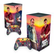 Skin Adesivo para Xbox Series X - GTA V - Pop Arte Skins