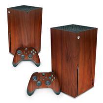 Skin Adesivo para Xbox Series X - Madeira - Pop Arte Skins