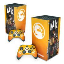 Skin Adesivo para Xbox Series X - Mortal Kombat 11 - Pop Arte Skins