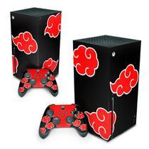 Skin Adesivo para Xbox Series X - Naruto Akatsuki - Pop Arte Skins