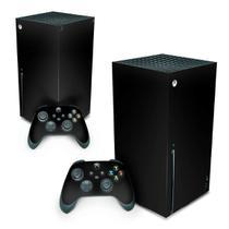 Skin Adesivo para Xbox Series X - Preto Black Piano - Pop Arte Skins