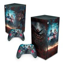 Skin Adesivo para Xbox Series X - Resident Evil 2 Remake - Pop Arte Skins