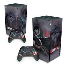 Skin Adesivo para Xbox Series X - Resident Evil 3 Remake - Pop Arte Skins