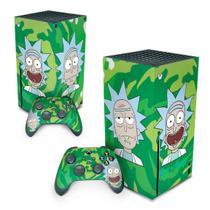 Skin Adesivo para Xbox Series X - Rick And Morty - Pop Arte Skins