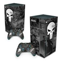 Skin Adesivo para Xbox Series X - The Punisher Justiceiro Comics - Pop Arte Skins