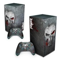 Skin Adesivo para Xbox Series X - The Punisher Justiceiro - Pop Arte Skins