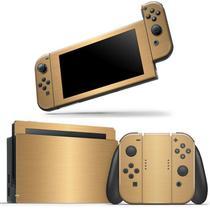 Skin Adesivo Protetor Nintendo Switch (Dourado) - Bd Cases