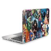 "Skin Adesivo Protetor para Notebook 15"" DC Liga da justiça b1 - Skin Zabom"