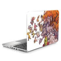 "Skin Adesivo Protetor para Notebook 15"" Digimon World b1 - Skin Zabom"