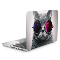 "Skin Adesivo Protetor para Notebook 15"" Gato Cosmos d1 - Skin Zabom"