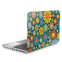 """Skin Adesivo Protetor para Notebook 15"""" Wide Flores Flowers d1 - Bd Cases"""