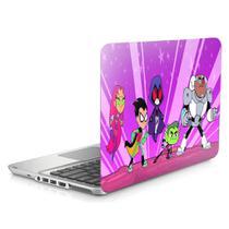 "Skin Adesivo Protetor para Notebook 15"" Wide Jovens Titans Teen Titans b2 - Skin Zabom"