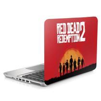 """Skin Adesivo Protetor para Notebook 17"""" Red Dead Redemption 2 Rockstar b1 - Skin Zabom"""