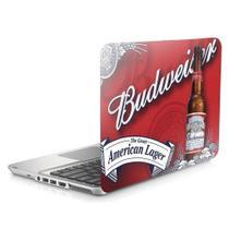 "Skin Adesivo Protetor para Notebook 17,3"" Budweiser b1 - Skin Zabom"