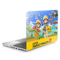 "Skin Adesivo Protetor para Notebook 17,3"" Mario Maker b1 - Skin Zabom"