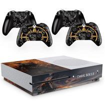 Skin Adesivo Protetor para X Box One S e Controles Dark Souls b3 - Skin Zabom