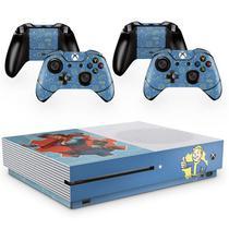 Skin Adesivo Protetor para X Box One S e Controles Fallout b5 - Skin Zabom