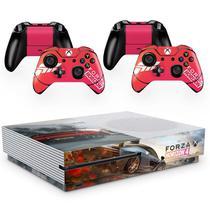 Skin Adesivo Protetor para X Box One S e Controles Forza Horizon b4 - Skin Zabom