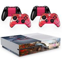 Skin Adesivo Protetor para X Box One S e Controles Forza Horizon b5 - Skin Zabom