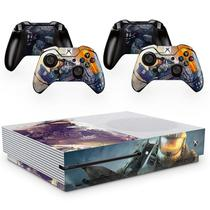 Skin Adesivo Protetor para X Box One S e Controles Halo Infinity b3 - Skin Zabom