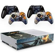 Skin Adesivo Protetor para X Box One S e Controles Halo Infinity b4 - Skin Zabom