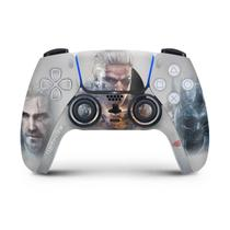 Skin Adesivo PS5 Controle Playstation 5 - The Witcher 3 - Pop Arte Skins
