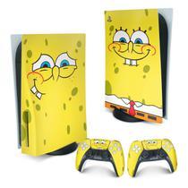 Skin PS5 Playstation 5 Adesivo - Bob Esponja - Pop Arte Skins