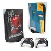 Skin PS5 Playstation 5 Adesivo - Cyberpunk 2077 Bundle - Pop Arte Skins