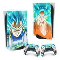 Skin PS5 Playstation 5 Adesivo - Dragon Ball Super - Pop Arte Skins