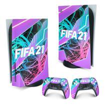 Skin PS5 Playstation 5 Adesivo - FIFA 21 - Pop Arte Skins