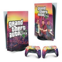 Skin PS5 Playstation 5 Adesivo - GTA V - Pop Arte Skins