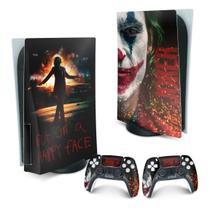 Skin PS5 Playstation 5 Adesivo - Joker Filme - Pop Arte Skins