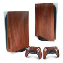 Skin PS5 Playstation 5 Adesivo - Madeira - Pop Arte Skins