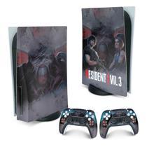 Skin PS5 Playstation 5 Adesivo - Resident Evil 3 Remake - Pop Arte Skins