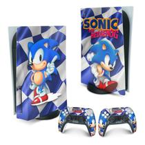 Skin PS5 Playstation 5 Adesivo - Sonic - Pop Arte Skins