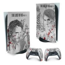 Skin PS5 Playstation 5 Adesivo - The Last Of Us Part II - Pop Arte Skins